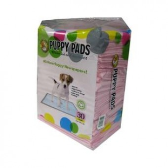 Best Pet Puppy Pads (Pink) Pack of 30's