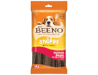Beeno Rollie Shapes With Smoked Bacon Flavour 120g