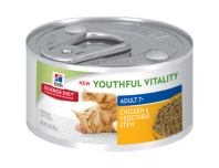 Hills Feline Youthful Vitality stew tins 82g