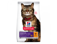 Hill's Adult Sensitive Stomach & Skin Dry Cat Food Chicken Flavour 1.5kg