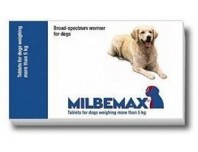 Milbemax large Chew-able Tablet 5KG - 25KG