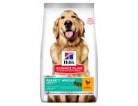 Hill's Adult Perfect Weight Large Breed Dry Dog Food Chicken Flavour 12kg