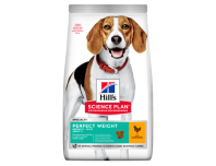 Hill's Adult Perfect Weight Medium Dry Dog Food Chicken Flavour 12kg