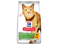 Hill's Adult 7+ Youthful Vitality Dry Cat Food Chicken Flavour 7kg