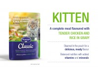 Montego Kitten 85g Pouches Chicken