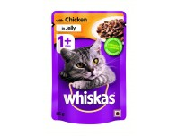 Whiskas with Chicken in Jelly 85g x 12 Pouches